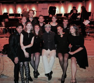 Vokalensemble mit John Hollenbeck // Aug 2015