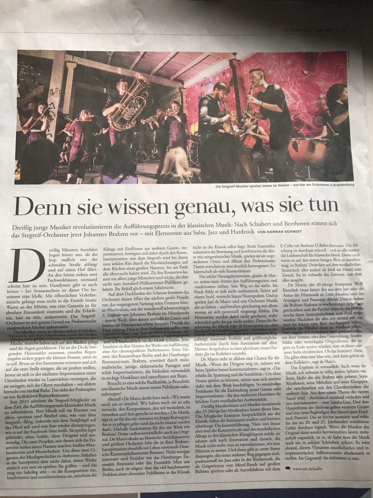 ZEIT Artikel Stegreif April 2018